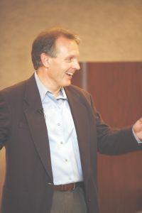 Niche expert Paul Johnson presenting The Great Brand Rush